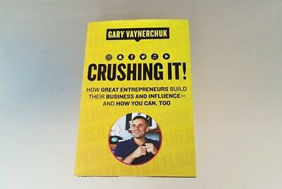 AU19.50 • Buy CRUSHING IT By Gary Vaynerchuk First Edition Hardcover Like New Condition