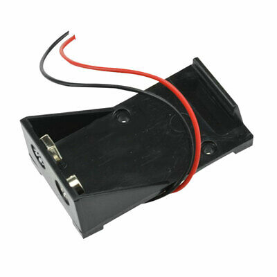 £2.37 • Buy 9V Volt Black Battery Clip Holder Box Case Cover With Q8G8 2017 Lead Wire C6Z3