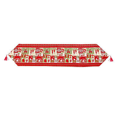 AU16.59 • Buy Protection Christmas Decor Party Table Runner With Tassel Reusable Dining Room