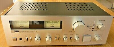 £175 • Buy SANSUI A80 VINTAGE INTEGRATED DC SERVO AMPLIFIER With MANUAL