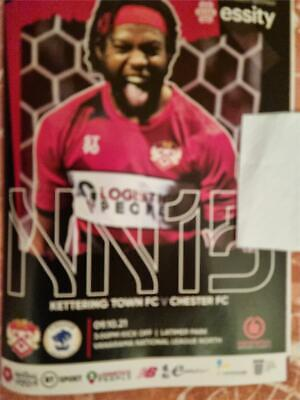 £2.50 • Buy Kettering Town V Chester FC National League North Football 9/10/2021