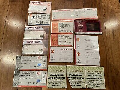 £40 • Buy Manchester United Used Tickets And Champions League Final Ticket 2003