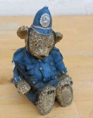 £3 • Buy Brian Police Teddy Bear Ornament Kevin Wood Collection