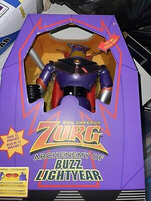 £14.50 • Buy DISNEY Toy Story 12  Zurg Talking And Light Up Action Figure