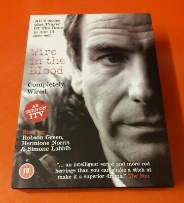 £5 • Buy Wire In The Blood Completely Wired ~ 14 Disc Dvd  Set