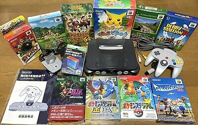 AU206.51 • Buy N64 Console Bundle + Accessories + 10 Games Japanese Ver. With Expansion Pak