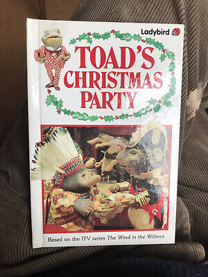 £3.50 • Buy Ladybird Book,The Wind In The Willows,Toad's Christmas Party