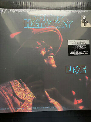 £24.99 • Buy DONNY HATHAWAY Live ATCO R1 33386 VINYL LP Limited Edition NEW & SEALED