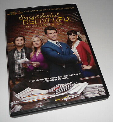 AU53.19 • Buy Signed, Sealed, Delivered: From Paris With Love (DVD) Hallmark Eric Mabius Film