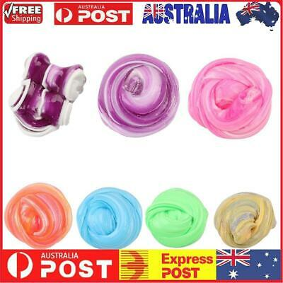 AU10.25 • Buy Mixing Color Crystal Fluffy Slime Scented Sludge Stress Relief DIY Toy Gift ☃