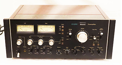 £1448.71 • Buy (ON SALE) SANSUI CA-3000 Pre-Amplifier Black Tested Working Good F/S From JAPAN