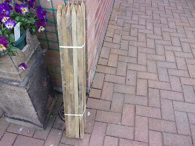 £2.99 • Buy Tree Stakes/Pointed/3' Long/1  Square/25 Per Pack