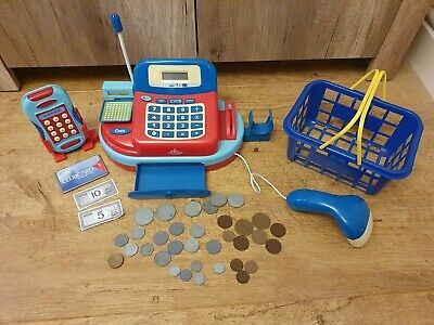 £12 • Buy Carousel Play Till, Card Machine And Shopping Basket With Sounds