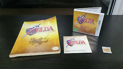 AU29.99 • Buy The Legend Of Zelda: Ocarina Of Time 3D 3DS AU COMPLETE + Official Game Guide