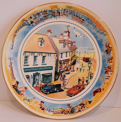 £9.99 • Buy Ten Inch Collectors Plate From  Ringtons  Tea  Seaside Days  (1996) - Boxed