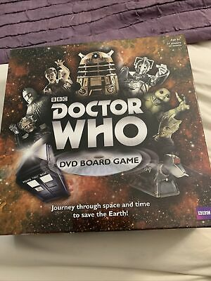 £4 • Buy Bbc Doctor Who Dvd Board Game