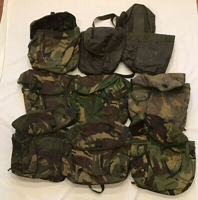 £20 • Buy British Army S10 & S6 Respirator Cases - Job Lot | DPM Gas Mask Pack Bag