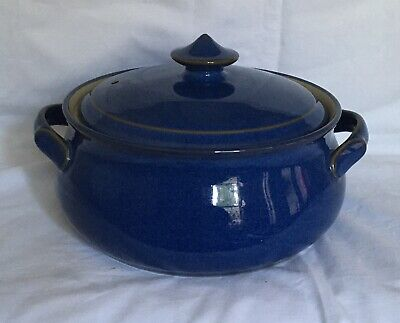 £10.50 • Buy Denby Imperial Blue Casserole Dish In Excellent Condition