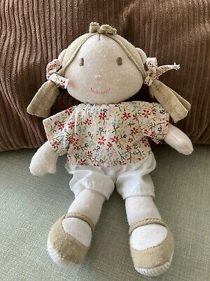 """£7 • Buy Mamas And Papas Once Upon A Time Berry Rag Soft Toy Doll 7"""" Approx"""