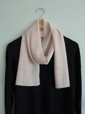 £24 • Buy M&S Pale Pink Pure Cashmere Scarf