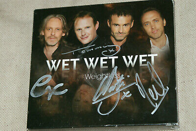 AU27.59 • Buy WET WET WET * SIGNED  * AUTOGRAPHED * WEIGHTLESS * 2x CD & 1 DVD BOXSET ….MARTI
