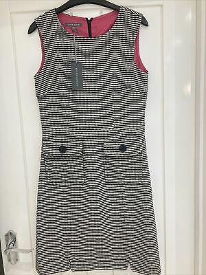 £18 • Buy BNWT Laura Ashley Dogtooth Check Pinafore Dress - Size 10