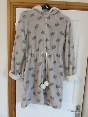 AU18.37 • Buy Ladies M&S Marks And Spencer 12-14 Tatty Teddy Me To You Bear Dressing Gown