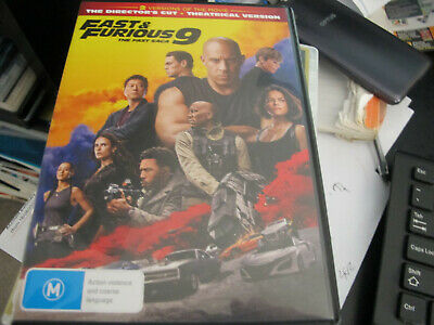 AU6.50 • Buy Fast And Furious 9 Dvd