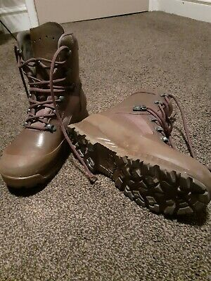 £30 • Buy Ladies Brown HAIX British Issue Combat Boots High Liability Size 6