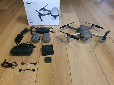 AU787 • Buy DJI Mavic Pro Platinum Drone - Fly More Combo - All Working Perfectly