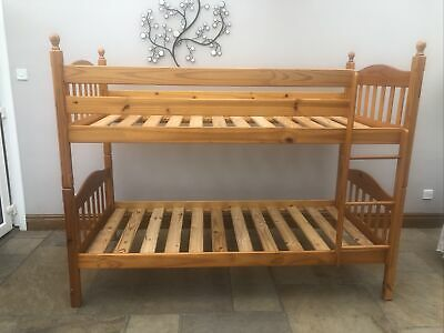 £170 • Buy Wooden Bunk Beds With Mattresses