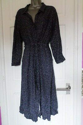 £0.99 • Buy Joules....size 16...stunning Midnight Blue & White Ditsy Star Print Dress...look