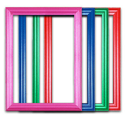 £3.74 • Buy BLUE Picture Frame Instagram RED GREEN PINK Photo Poster Frames A1 A2 A3 A4 A5