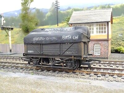 £15.99 • Buy Hornby Gwr Taraulin Sheet Covered Wagon (lineside Weathered)