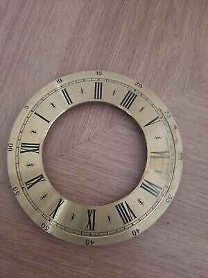 £10 • Buy Vintage Clock Dials Faces Chapter Rings  Brass 11 Cm