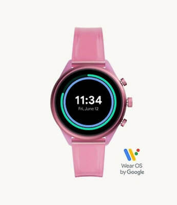 AU169 • Buy Fossil Sport Smartwatch Hot Pink Silicone (FTW6058)
