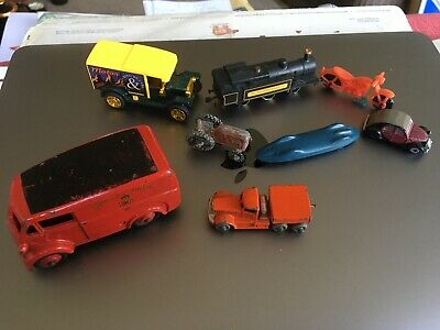 £0.99 • Buy Model Cars Selection All Playworn With Dinky Royal Mail Van In Bundle Number Two