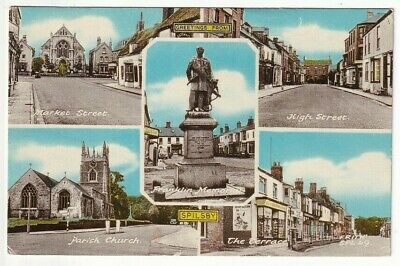 £1.75 • Buy A Frith Multiview Card Of Greetings From Spilsby. Lincolnshire.