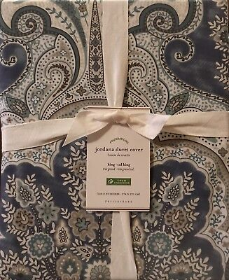 £27.54 • Buy Pottery Barn Jordana Paisley COVER , Size Full.Queen,  New Arrivals,W/ $99.00Tag