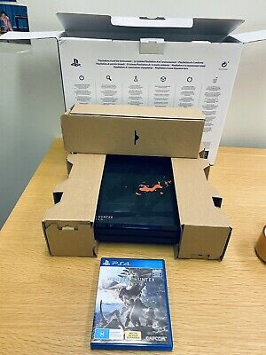 AU700 • Buy RARE PS4 Pro Monster Hunter World Limited Edition Console