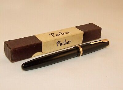 £31 • Buy Vintage Parker Af Duofold Fountain Pen - Superb Boxed Cond' - Lovely Nib - C1948