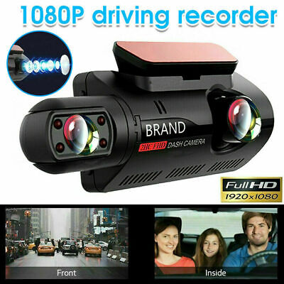 AU45.56 • Buy 1080P Car Dash Camera Video DVR Recorder Front And Rear Night Vision Dual Cam
