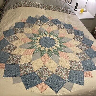 £42 • Buy Quilted Patchwork Bedspread King Size