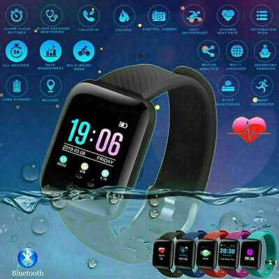 AU16.99 • Buy Smart Watch Band Sport Activity Fitness Tracker For Kids Bit Android IOS