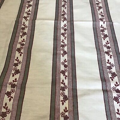 £10 • Buy 2 X PairsRetro 70's Pair Of Floral Curtains Cafe Rod,Wire,rod Hanging 40 X 53 L3