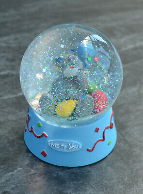 £3 • Buy 'ME TO YOU' SNOW GLOBE GLITTER GLOBE Excellent Condition