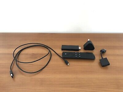 AU19.31 • Buy Amazon Fire Stick 2nd Generation Model LY73PR With Alexa Voice Remote (Used)