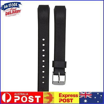 AU8.79 • Buy Luxury Silicone Replacement Wrist Watch Band Buckle For Fitbit Alta Twill S AU