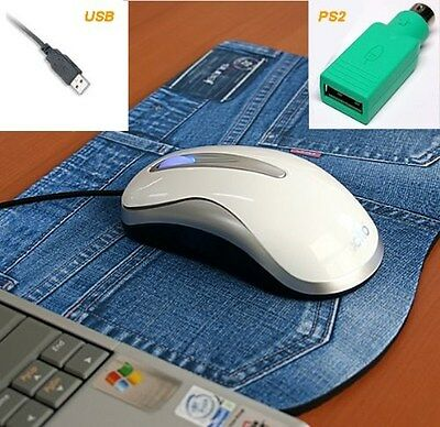 £7.27 • Buy Actto Optical White Mouse USB PS/2 For DELL Inspiron Sony HP Toshiba Mac DeskTop