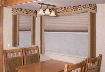 $79.99 • Buy RV Day Night Window Shade Blind Curtain Door WRV 55x16